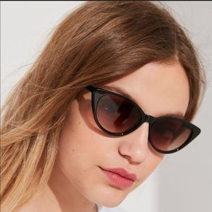 64e8b2ce8 Urban Outfitters Accessories - Urban Outfitters Slim Retro Cat-Eye  Sunglasses